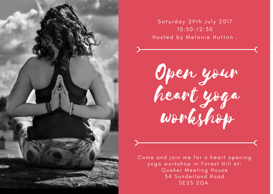 OPEN YOUR HEART WORKSHOP ANAHATA CHAKRA -