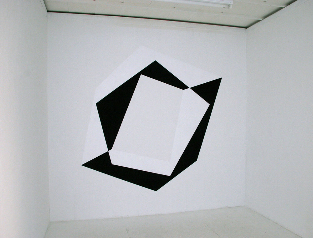 Fig.16 - Wall Installation Nathan Cohen Aisho Miura Gallery Tokyo 2009