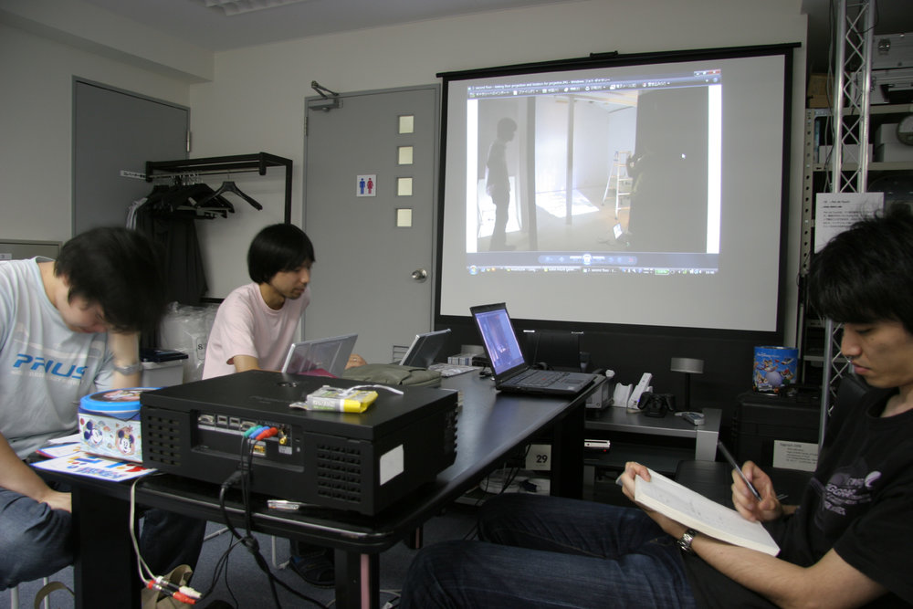 Fig.26 - Tachi Lab 'Intangible Spaces' planning meeting 2010