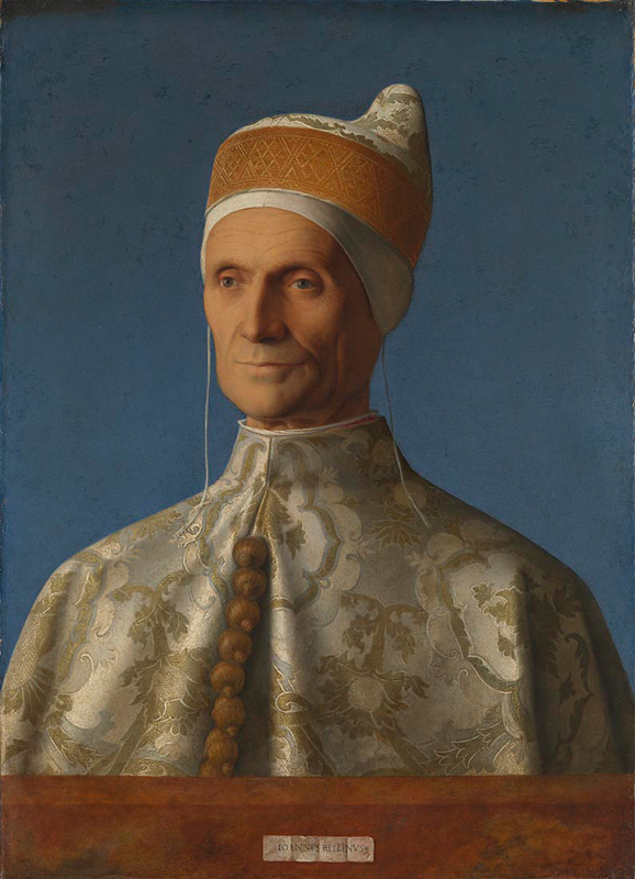 Figure 5:  Doge Leonardo Loredan (1501-2)  Giovanni BELLINI (National Gallery London)