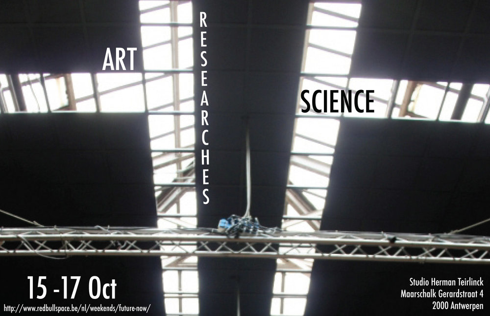 2010     Art Researches Science   Studio Herman Teirlink Antwerp, BELGIUM