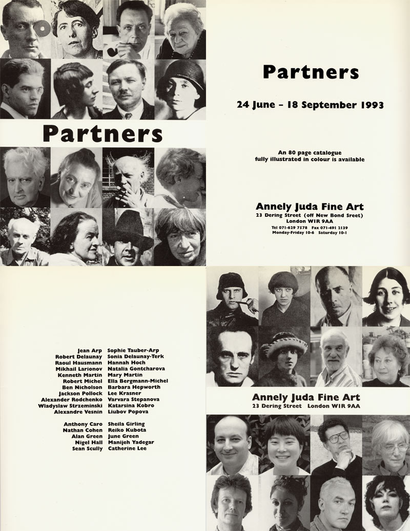 1993 Partners   Annely Juda Fine Art, London, GB