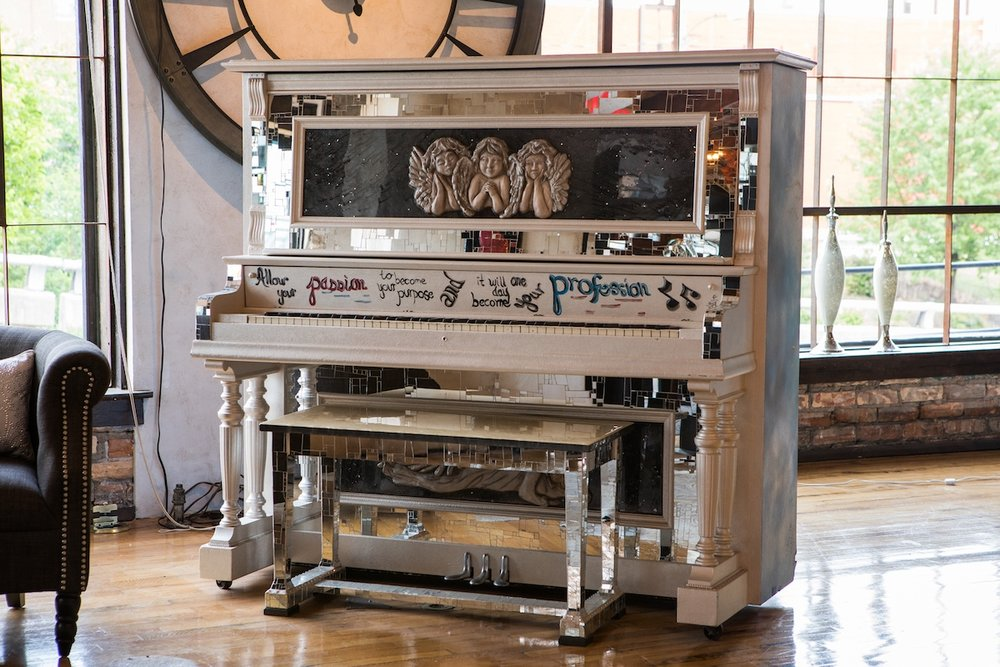 Antique Piano Makeover