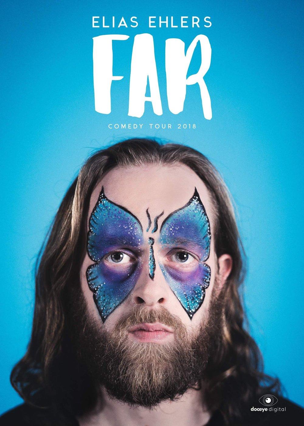 """ELIAS EHLER """"FAR""""  Comedy Tour 2018"""