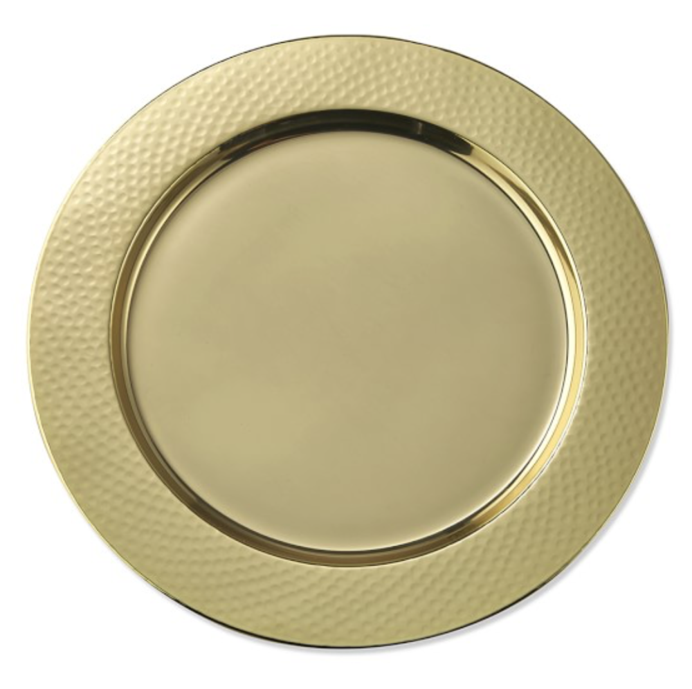 charger plates -