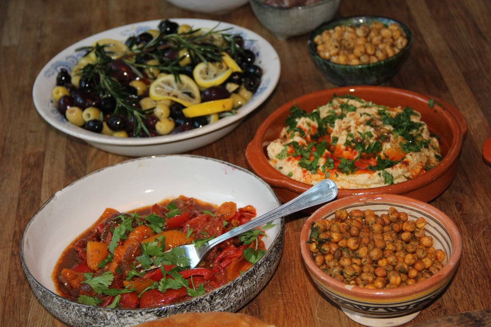 Spaanse tapas buffet