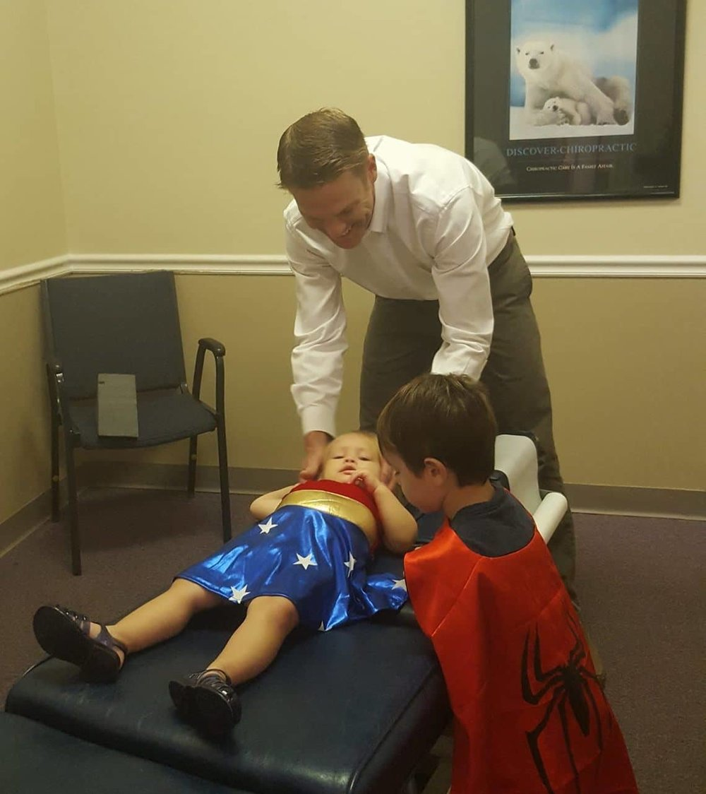 Family Chiropractic Care - We provide care for the whole family!Whether you're an expectant mother who needs relief from extreme back pain or you're a teen recovering from a sports-related accident, our flexible chiropractic treatment options are tailored to each of our patient's needs.