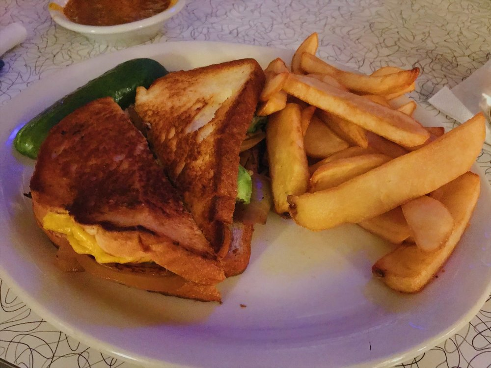 Howley's Perfect Grilled Cheese.