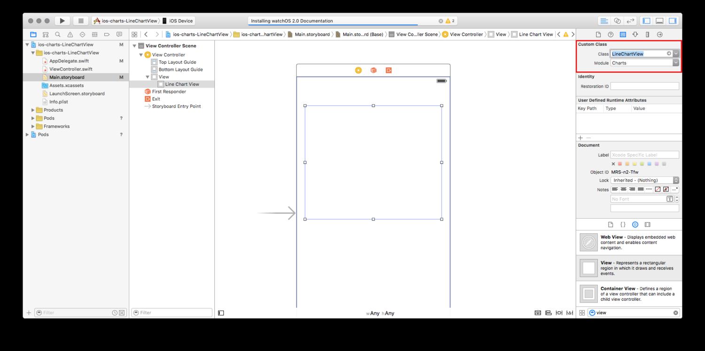 How to create a Line Chart using ios-charts — dan beaulieu