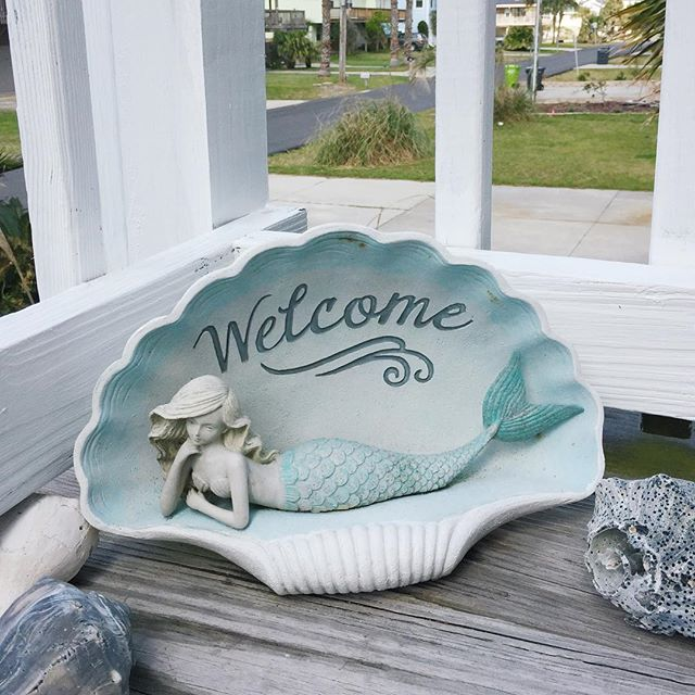 Welcome to our little corner of Instagram! We're excited to start sharing all the bits and pieces of our beautiful beach vacation rental home in Fernandina Beach!