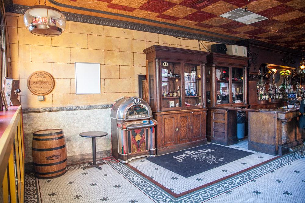 Florida's oldest running bar, The Palace Saloon, in Fernandina Beach.