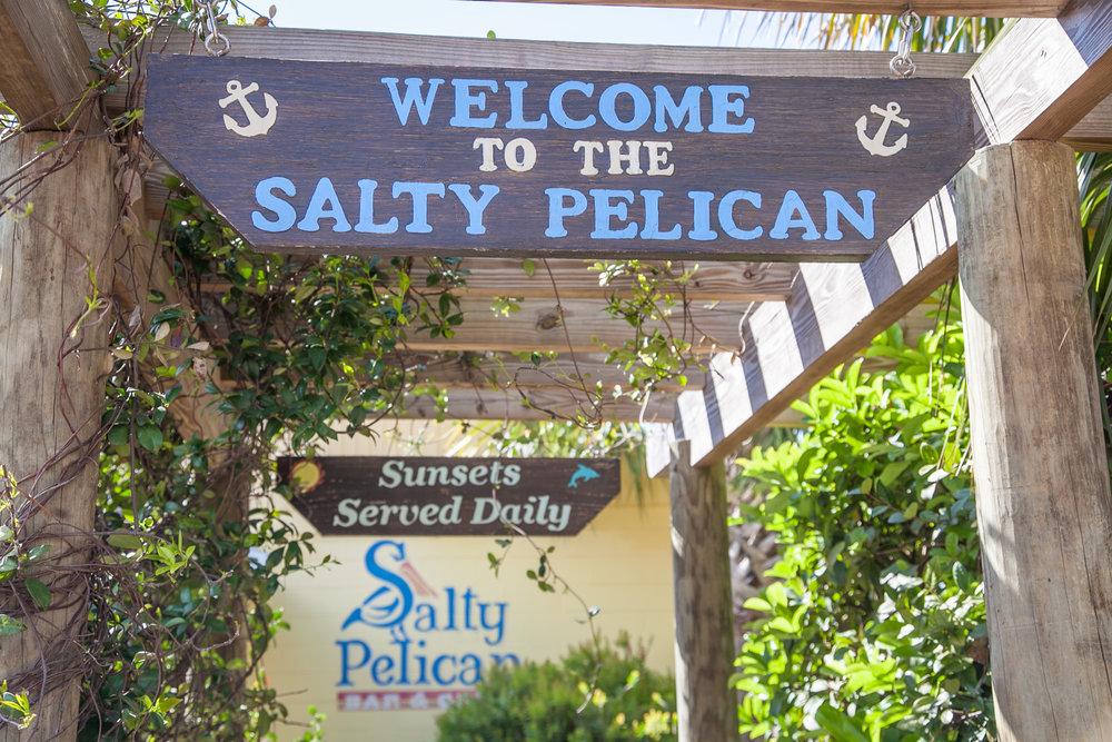 The Salty Pelican Bar & Grill in Fernandina Beach, Florida.