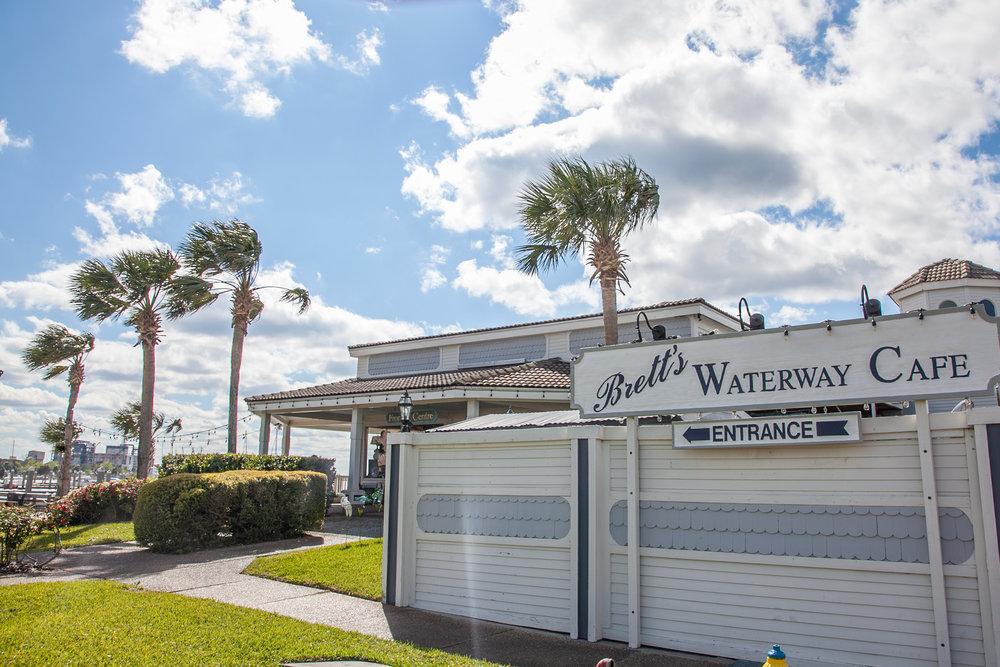 Brett's Waterway Cafe in Fernandina Beach, Florida.