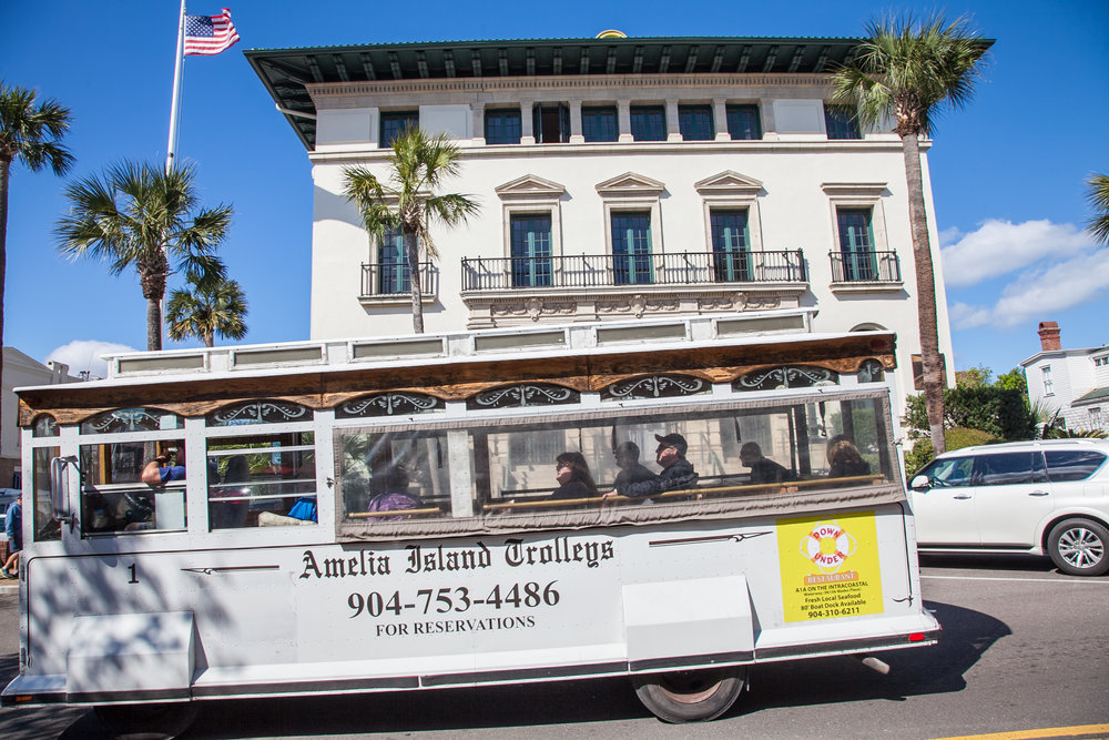 Amelia Island Carriages in Fernandina Beach, Florida.