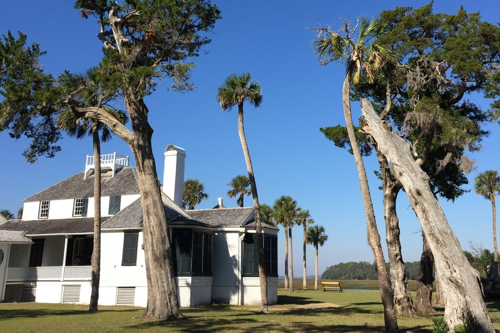 Kingsley Plantation on Fort George Island, Florida.