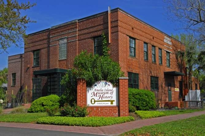 Amelia Island Museum of History in Fernandina Beach, Florida.