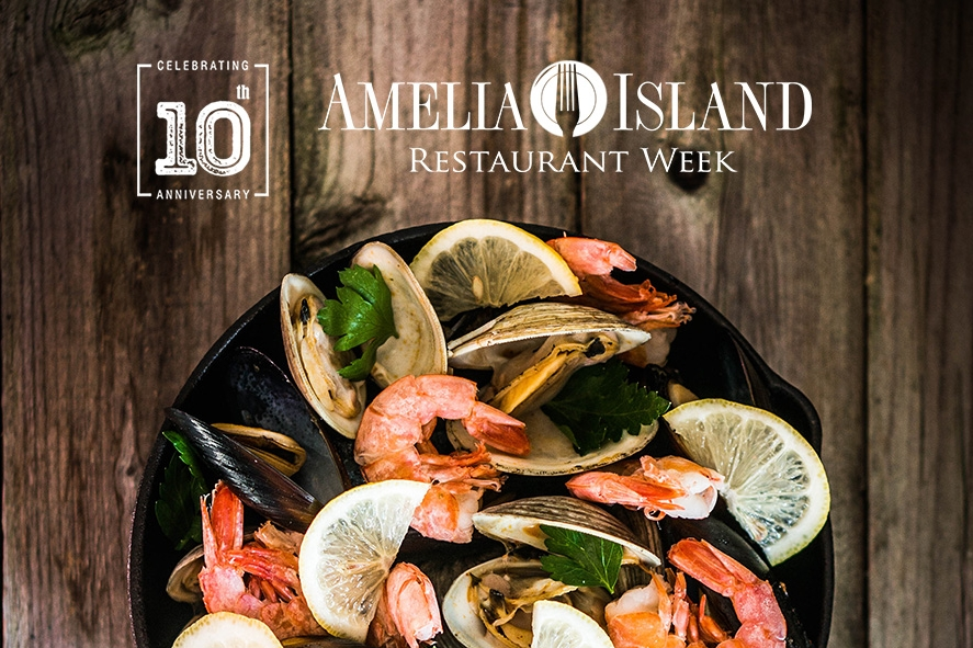 Amelia Island Restaurant Week on Amelia Island, Florida.