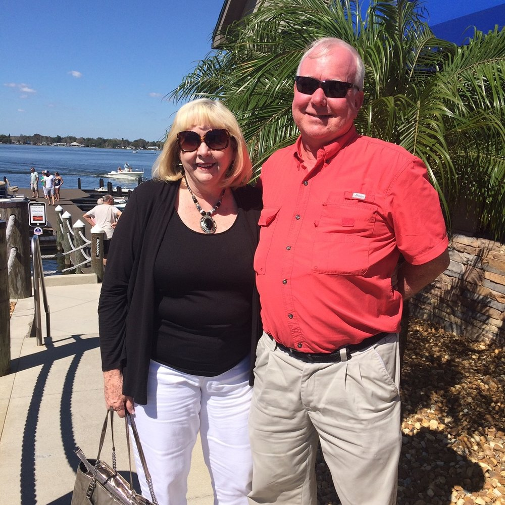 Lynn and Steve Hilker, proprietors of the Seaside Escape in Fernandina Beach, Florida.