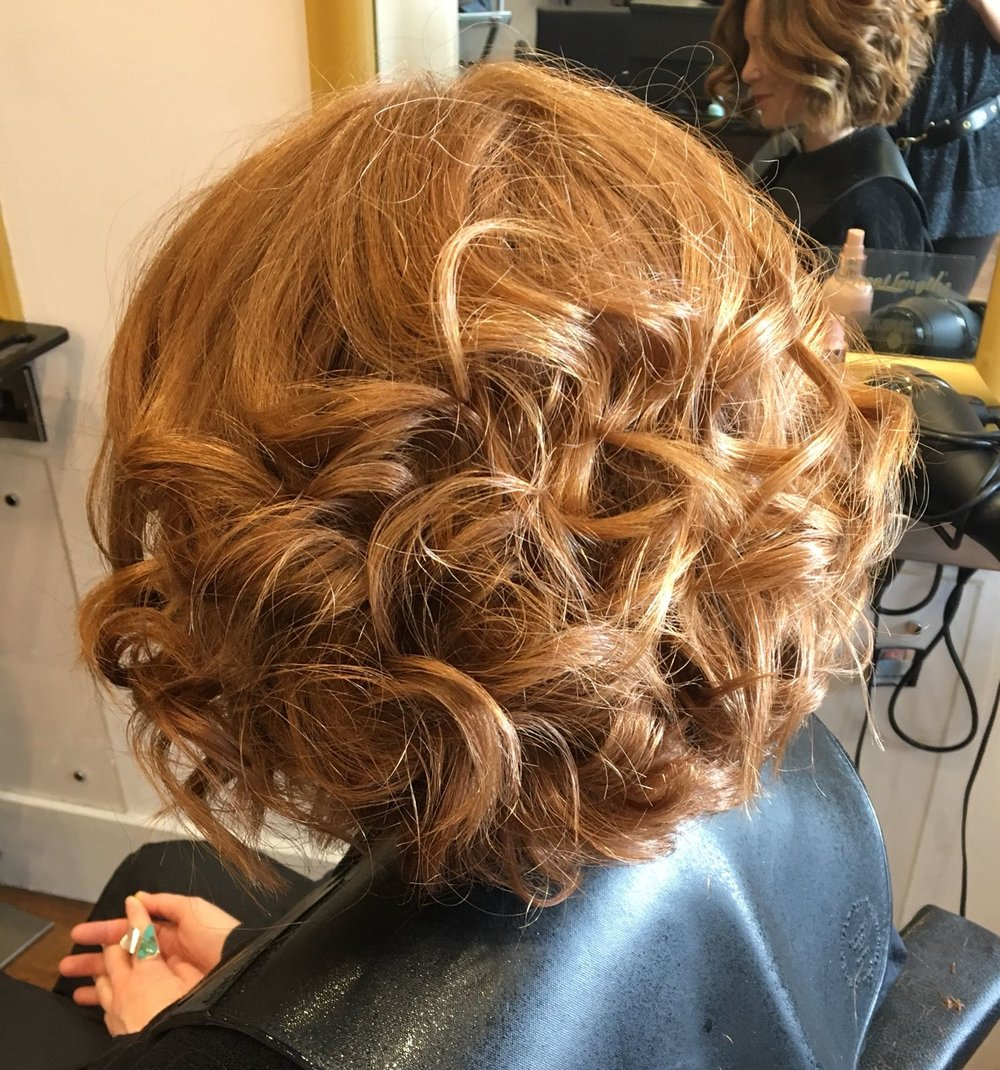 Complete Hair and Beauty Growing out a short bob And making it look easy! With the new #ghdgold #ghd.jpeg