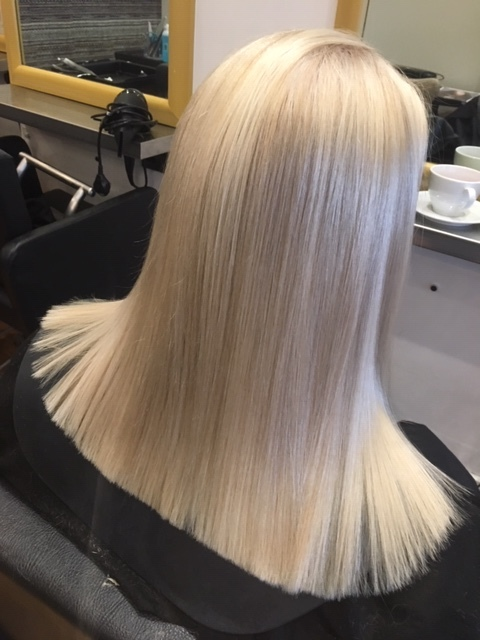 Blonde on a over 60's