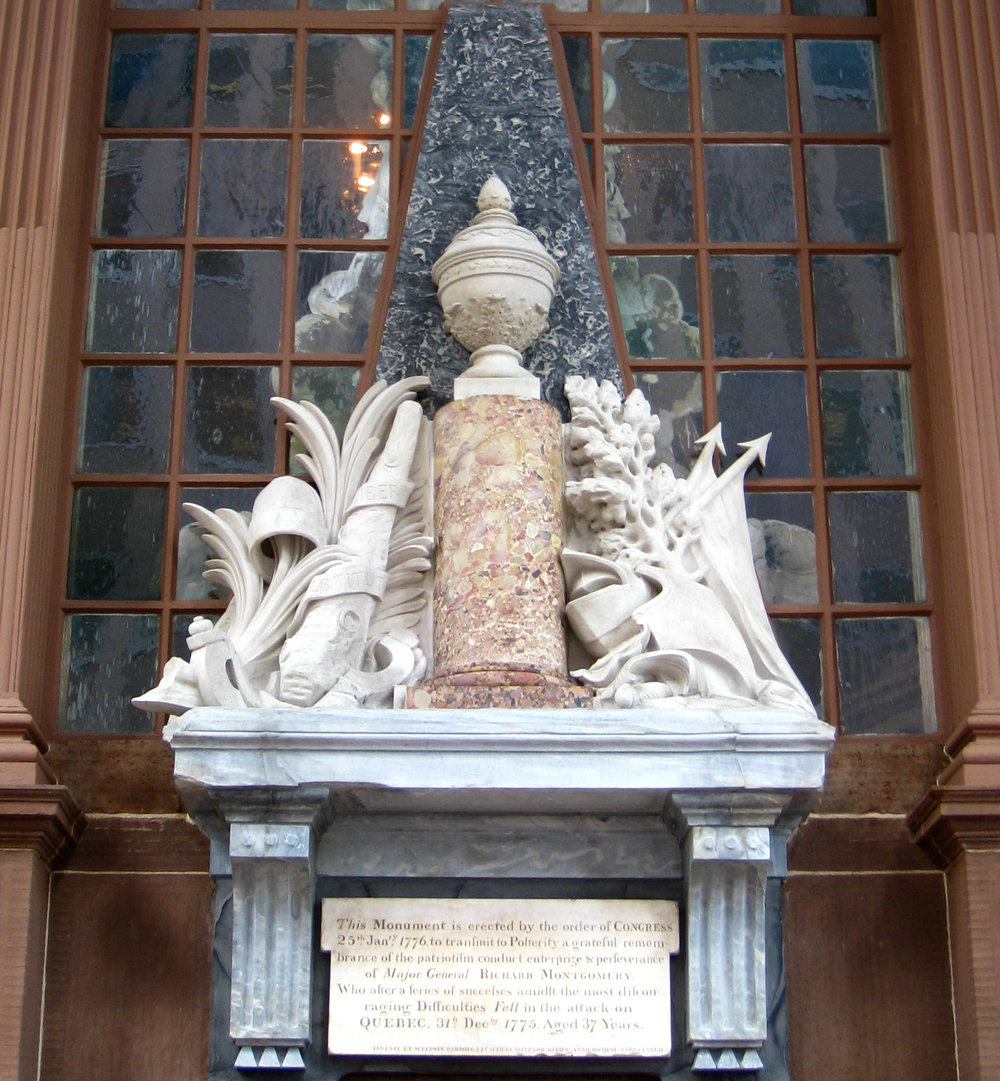 The Montgomery Monument, St. Paul's Chapel -