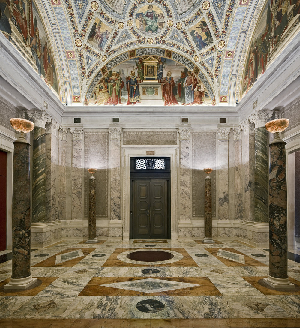 The McKim Building Rotunda -