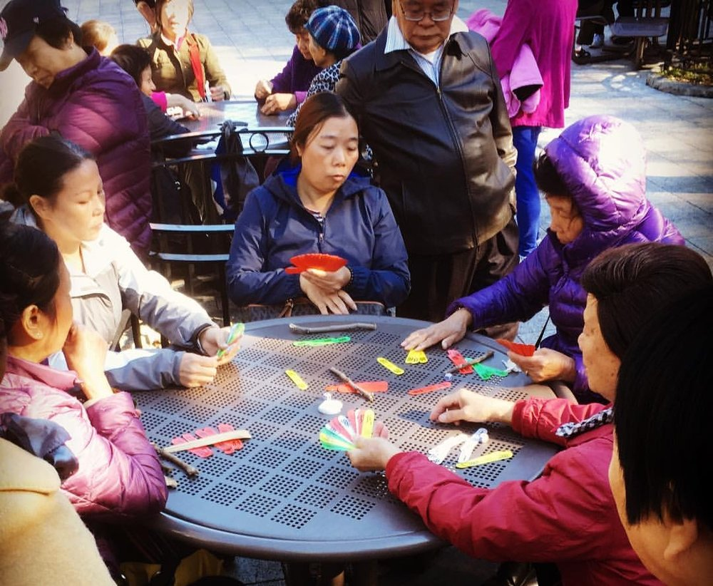Think!Chinatown was started by a group of neighbors.   - They kept running into each other at  events while grappling with common questions about the community. What's the role of art and culture in Chinatown and how do we preserve or promote it? Wouldn't it be nice if the seniors could still hang out in the park in the winter, or when it rains? What city projects are affecting our neighborhood and how do we have a say in them? How do little opera groups get funding if they can't fill out an English application form? Where do young Asian Americans go to learn about and participate in the