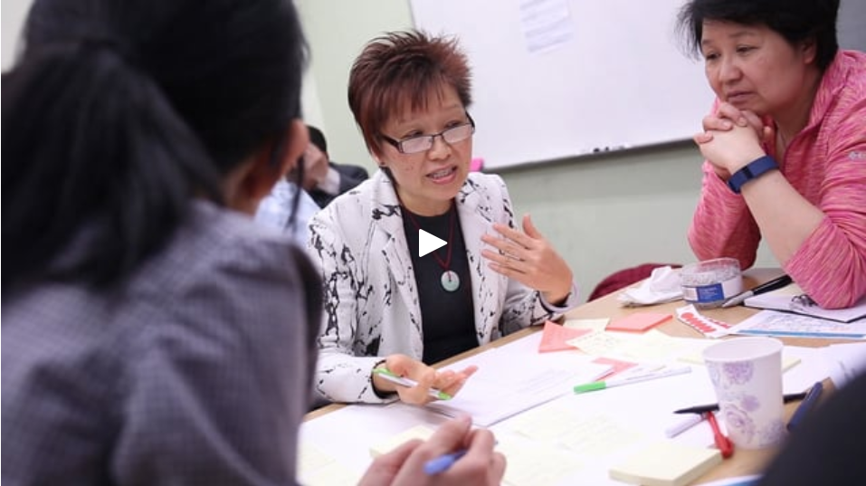 WE DESIGN & LEAD MULTI-LINGUAL FOCUS GROUPS AND WORKSHOPS. - We bring experience and expertise to our design of bilingual workshop materials and we run multi-dialect community engagement workshops that reflect the demographics of Chinatown.