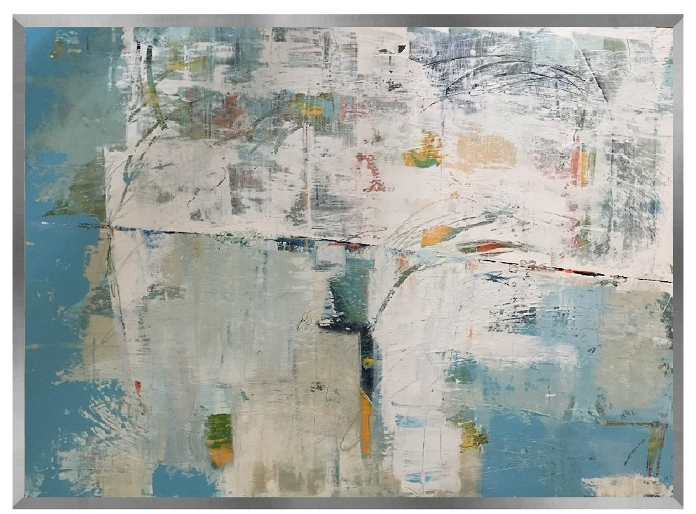 Caution: Thin Ice | 50x38 | Sold