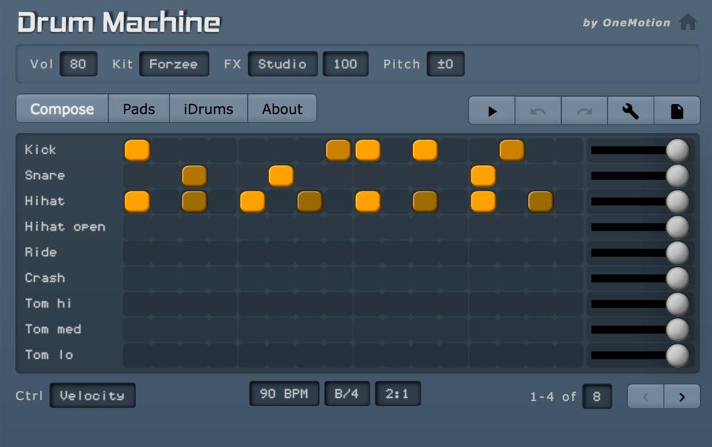 Free Drum Machine Online