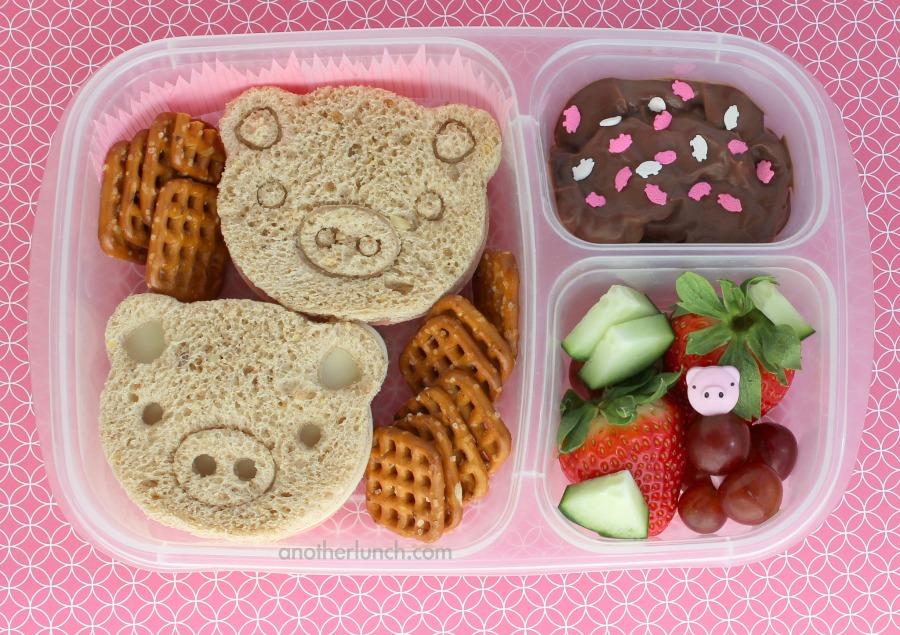 piggy sandwhiches