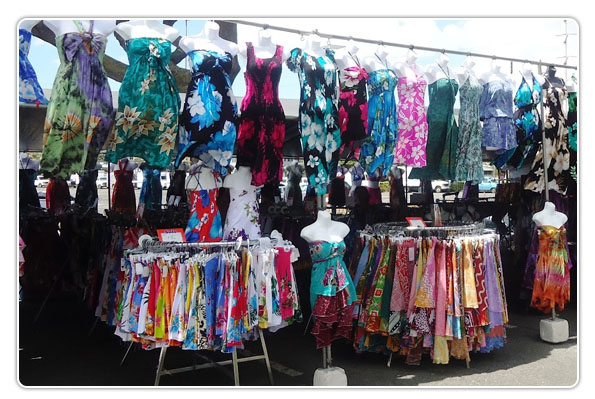 Aloha Swap Meet- Open Saturday & Sunday.  Best place to get gifts from Hawaii.  Aloha shirts, ukulele's, carved wood etc.  99-500 Salt Lake Blvd, Honolulu, HI 96818