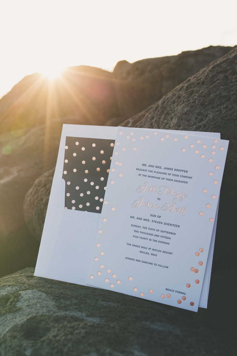 The Andaz Maui — Studio LMC - custom bespoke wedding and event ...
