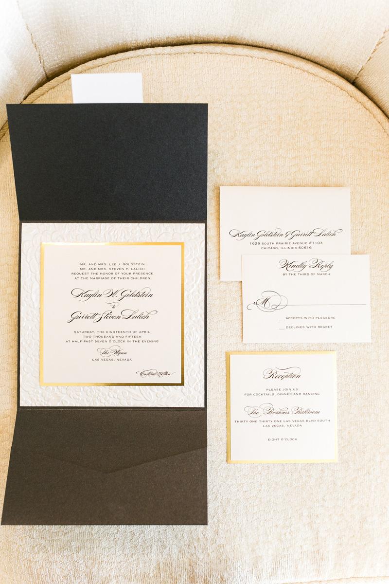 The Wynn — Studio LMC - custom bespoke wedding and event invitations