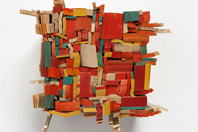 Ann Hamilton   Book Weights  October 2 - November 1, 2014