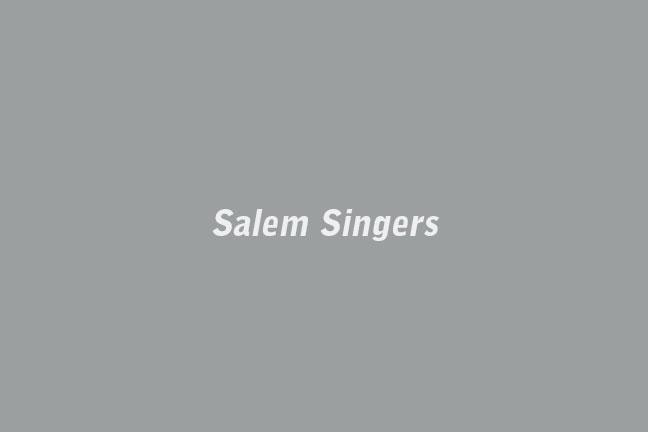Video Window Tom Greenwood  Salem Singers   November 4 - 27, 2010
