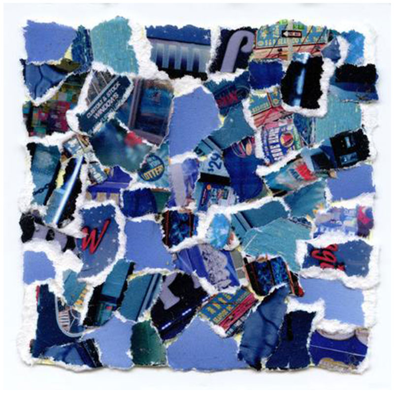 "Charlie Perez-Tlatenchi   RGB (B) , 2017 Type-C Print 10 x 10"" Edition of 5  Inquire >"