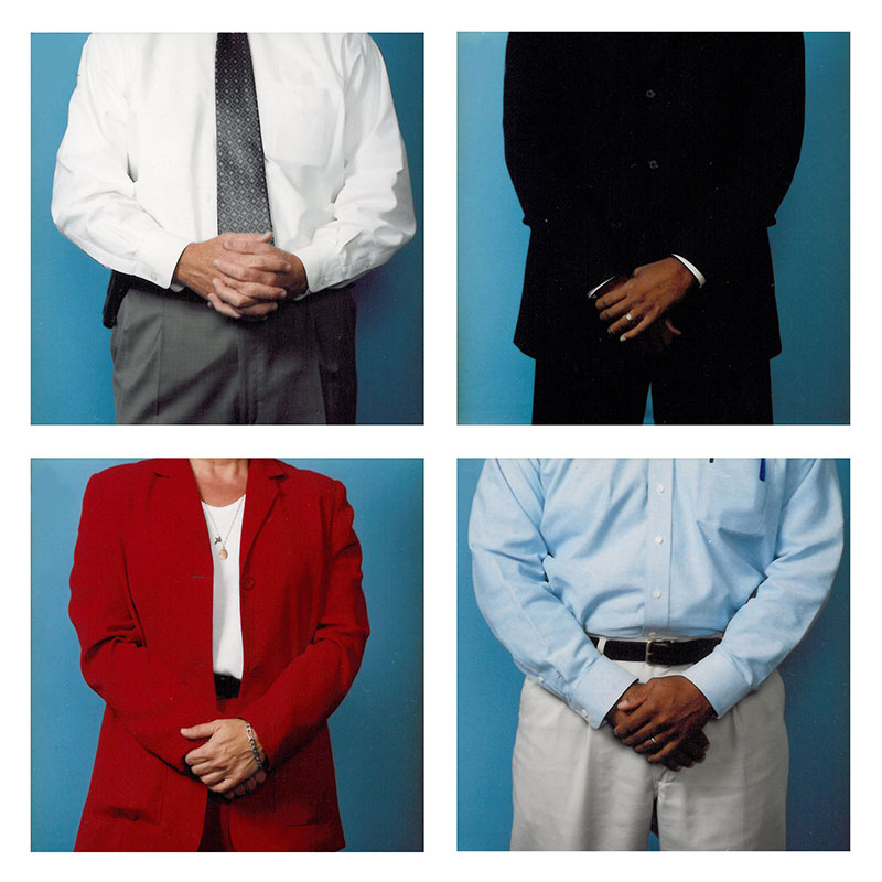 Secret Handshake , 2006 c-print on plexiglass 19.75 x 19.75 inches each panel Edition of 3  Inquire >