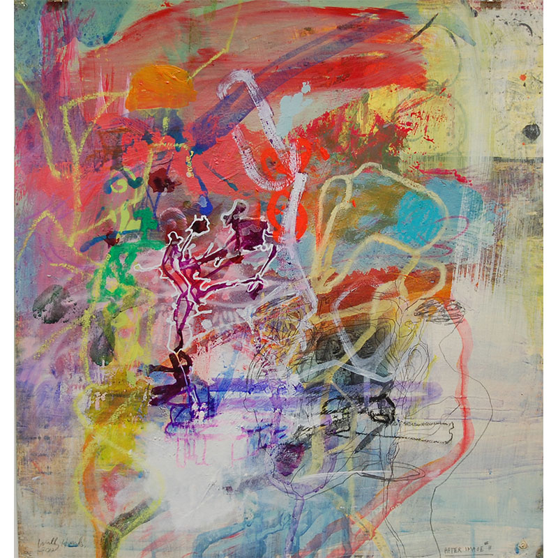 """After Image #3 , 2012 mixed on paper 21 x 19.5"""" paper  Inquire >"""