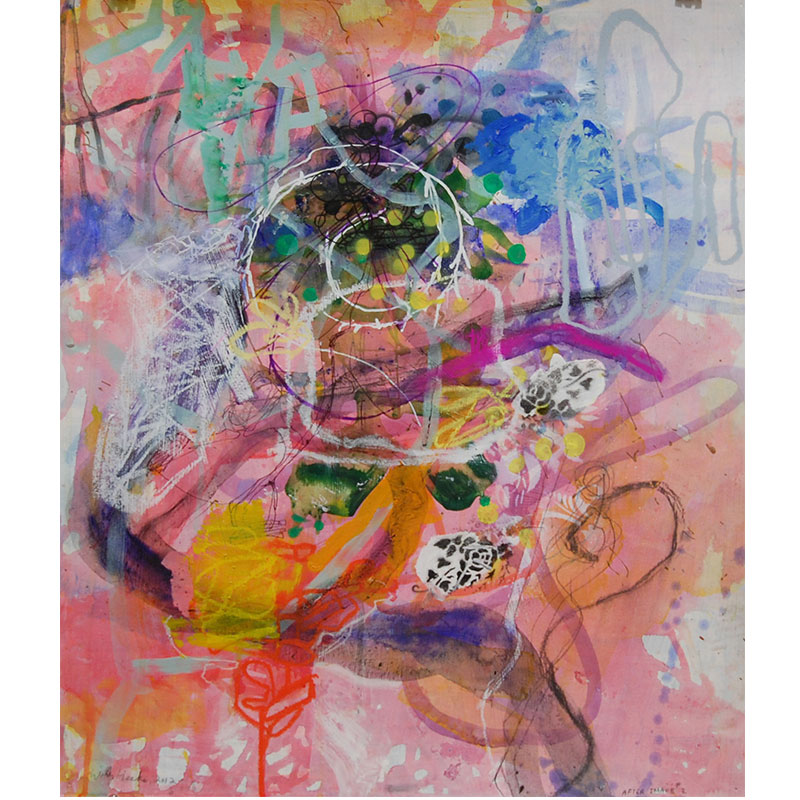 """After Image #2 , 2012 mixed on paper 23 x 19.5"""" paper  Inquire >"""