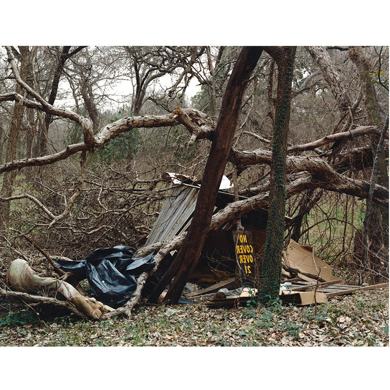 """No Cover Over 21, Austin , 2007 c-print 18 x 23.5"""" image 19 x 24.25"""" framed Edition of 6  Inquire >"""