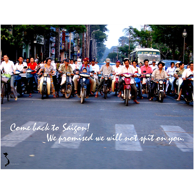 "Come Back to Saigon , 2005 photograph 30 x 40"" Edition of 10  Inquire >"