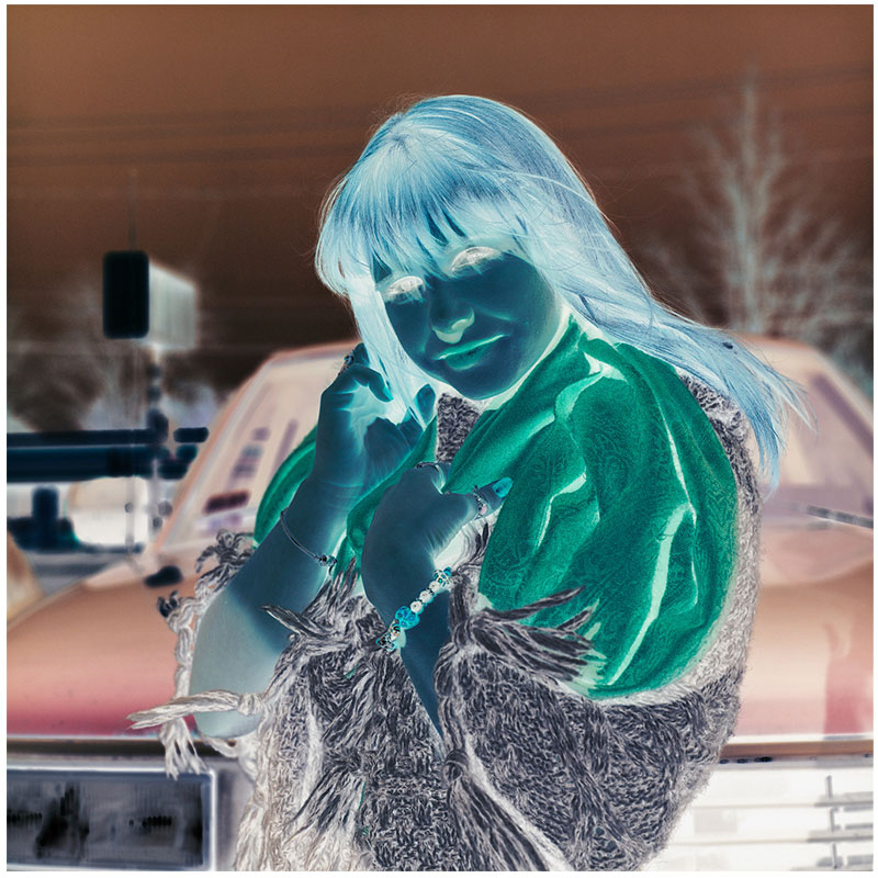 "Untitled - RL198 , 2015/2016 archival pigment print 27 x 27"" Edition of 3, 2AP  Inquire >"