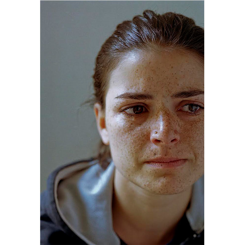 "Miriam Crying II, Berlin , 2003 archival inkjet print 36 x 24"" image 40.5 x 28.5"" framed Edition of 3  Inquire >"