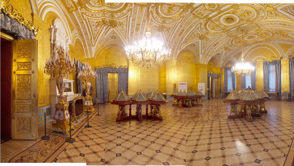 "Hermitage Museum XVIII , 2012 pigment inkjet print 18 x 33"" image 28 x 41"" framed"