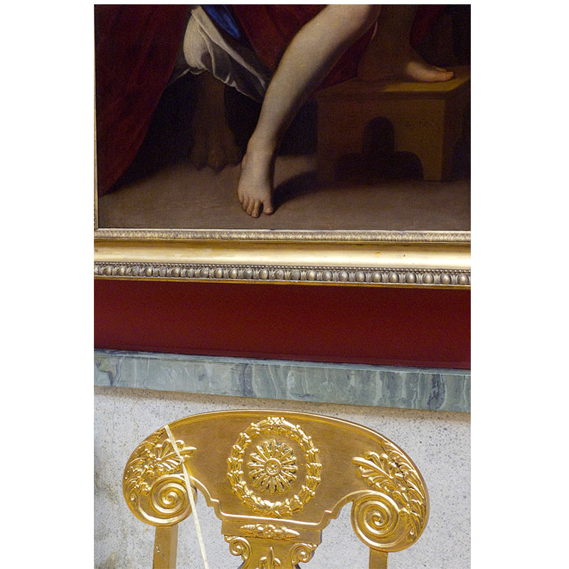 "Hermitage Museum III , 2012 pigment inkjet print 18 x 12"" image 26 x 20"" framed  Inquire >"