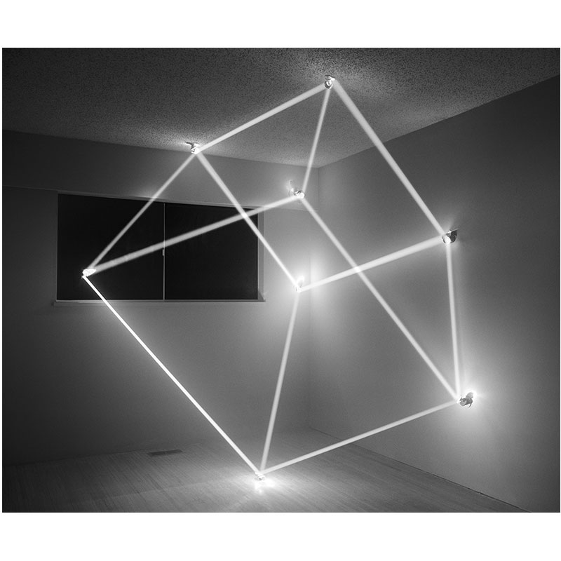 "James Nizam   Though Form (Cube) , 2011 archival inkjet print 30 x 36"" Edition of 5  Inquire >"
