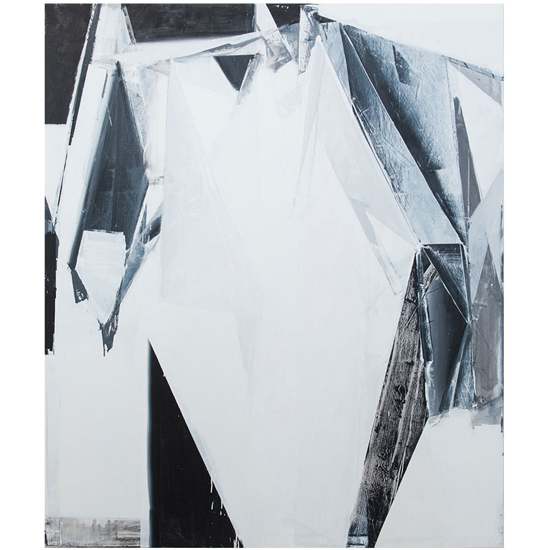 "Jason Vance Dickason   Untitled - JVD 1 , 2017 oil on canvas 83 x 70""  Inquire >"