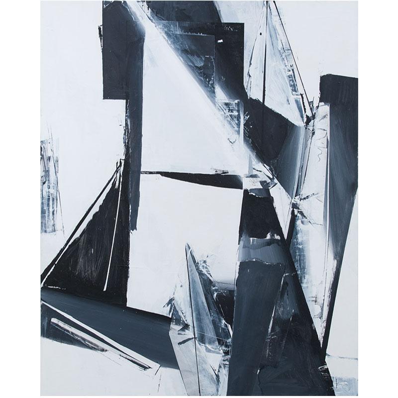 "Jason Vance Dickason   Untitled - JVD 2 , 2017 oil on panel 60 x 48""  Inquire >"