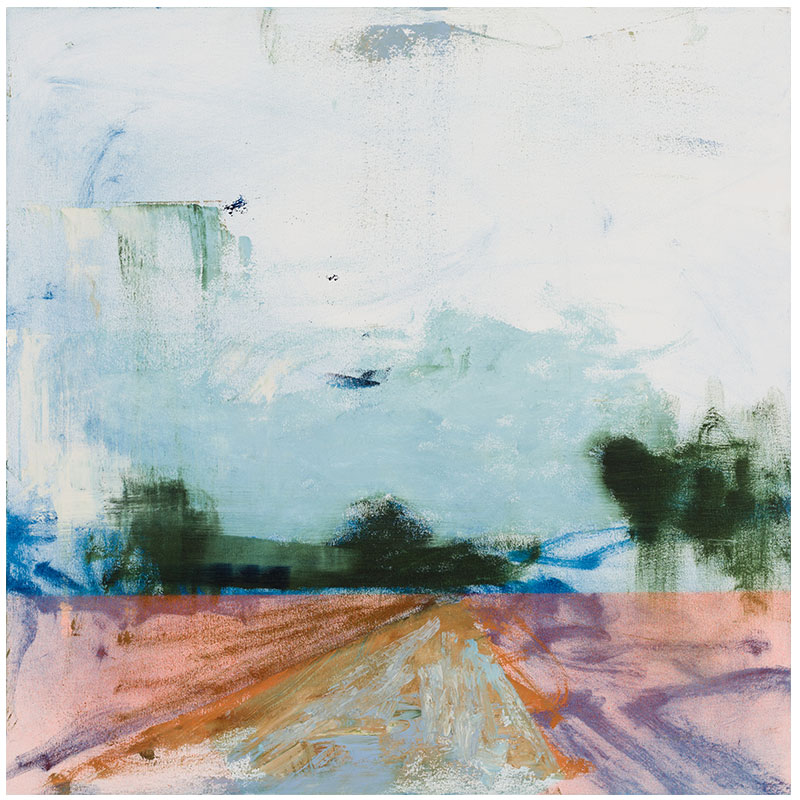 "Ferguson, MO 8-9-14 , 2017 oil on canvas 30 x 30"" SOLD"
